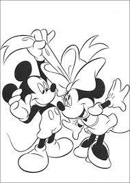 Kids N Fun 38 Kleurplaten Van Minnie Mouse