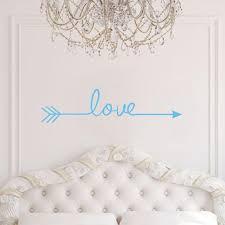 Love Arrow Vinyl Wall Decal Home Decor