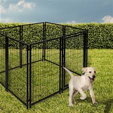Heavy Duty Pet Playpen Dog Kennel 16 Panel 4 X 2 5 Feet Each Buy 10x10x4 Dog Kennel Playpen Online Aleko