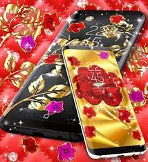 gold rose live wallpaper apk 13 4