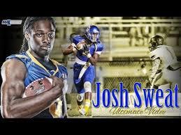 1 Recruit: Josh Sweat - ULTIMATE HIGHLIGHTS - Oscar Smith (VA ...