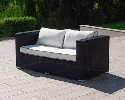 ascot outdoor rattan sofa 2 seat