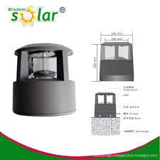Outdoor Led Pillar Light For Fence Post Solar Fence Lighting Garden Lights Jr Cp46 China Manufacturer