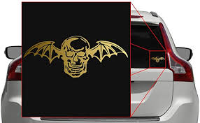 Slipknot Logo Vinyl Decal Car Laptop Sticker 5 5 X 2 40 Truck Auto Parts And Vehicles Car Truck Graphics Decals Magenta Cl