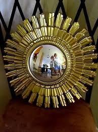 sunburst mirror 1950 s gilt frame