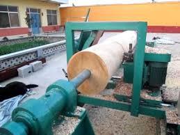 log mill lathe