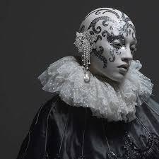 porcelain doll makeup cyber mannequin