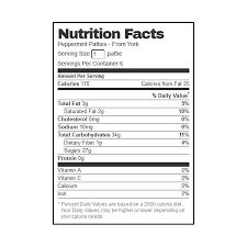 york peppermint patties 1 4 oz 12 pack
