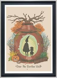over the garden wall cross stitch