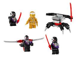 LEGO Ninjago Golden Zane Accessory Set (40374) Official Images ...