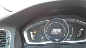check oil level on a 2016 volvo s60