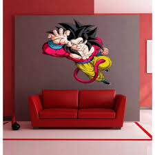 Shop Full Color Dragon Ball Z Full Color Decal Dragon Ball Z Full Color Sticker Sticker Decal Size 33x39 Overstock 14387021