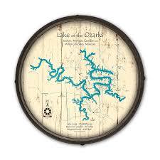 wooden barrel end map