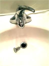 unclog bathroom sink drains