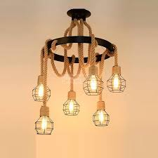iron cage chandeliers industrial wind
