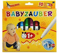 babyzauber malinos 10 piece baby crayon
