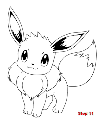 Eevee Coloring Pages Eevee Coloring Page For Kids Coloring Pages