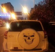 Skull Hood Decal Vinyl Large Graphic Sticker Car Truck Alfonsocarter