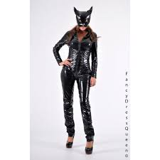 very high quality pvc catwoman costume
