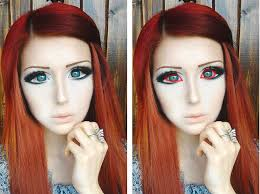 how to create anime eyes makeup