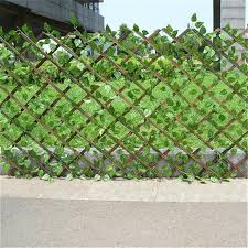 Hot Deal 9ce161 Extendable Instant Fence Outdoor Wooden Fence Garden Balcony Vine Frame Wedding Props Decoration Cicig Co