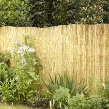 4 Ft H X 8 Ft L Peeled And Polished Reed Fence 10 Pack Hyman Inc
