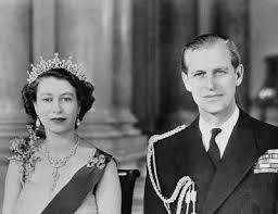 El principe felipe y la reina