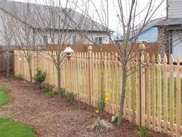 Cedar Picket Fence Rick S Fencing Of Or Wa