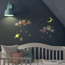 Harriet Bee Bayswater Moon And Stars Owl Tree Wall Decal Reviews Wayfair