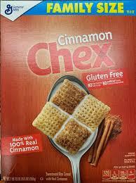 cinnamon chex gluten 343g