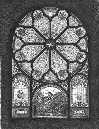 stained glass window bradly methodist