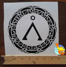 Stargate Vinyl Sticker Weasyl