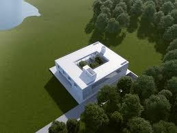 modern mansion near london england e