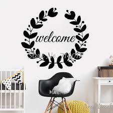 Welcoming Wall Decals Home Decorative Decal Decor Custom Name Sweet Door Decor Merry Christmas Wall Sticker Vinyl Mural Art A967 Christmas Wall Stickers Name Wall Stickerswall Sticker Aliexpress