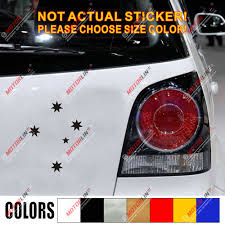 Australian Southern Cross Crux Stars Australia Decal Sticker Car Vinyl Pick Size Car Stickers Aliexpress