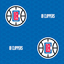 los angeles clippers logo pattern