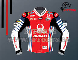 FRANCESCO BAGNAIA DUCATI LEATHER RACING JACKET MOTOGP 2020