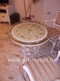 wrought iron coffee table wrought iron