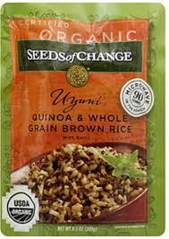 quinoa rice whole grain brown