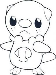 Pokemon Characters How To Draw Oshawott Kleurplaten Pokemon