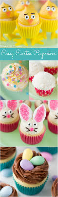 easy easter cupcake decorating and