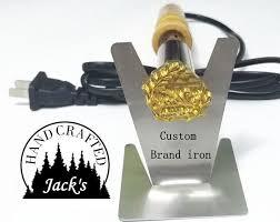branding iron custom wood brand iron