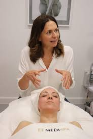 Celebrity facialist, Abigail James collabs with EF MEDISPA!