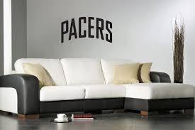 Amazon Com Indiana Fever Nba Team Logo American Basketball Superbowl Design Wall Decor Vinyl Sticker Decal Mural Gm1880 Home Kitchen
