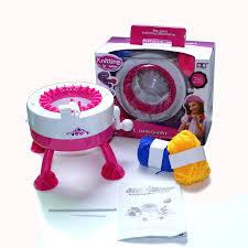 Satın Al Çocuk Örgü Makinesi Ipliği Çocuk Makinesi Örme Kazak Kız ...