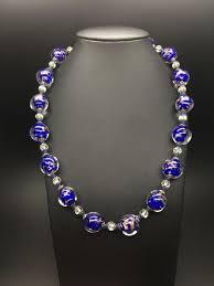 murano glass necklace venice antique
