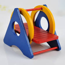 Shop Hamster Rainbow Swing Fun Cute Seesaw Pet Toy Wooden Hamster Play Toys For Small Animals Online From Best Pet Houses Cages Fences Doors On Jd Com Global Site Joybuy Com