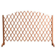 Expanding Portable Wooden Fence Screen Pet Safety Gate Kid Patio Garden Lawn Walmart Canada