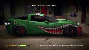 Warbird Style Shark Teeth Tutorial Nfs 2015 Youtube
