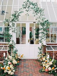 vibrant greenhouse wedding in the